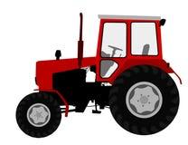 Landbouwtrekker, landbouwbedrijfvoertuig Royalty-vrije Stock Afbeelding