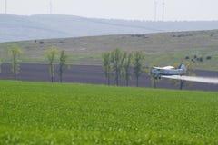 Landbouwvliegtuig Stock Afbeeldingen