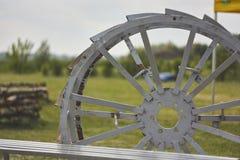 Landbouwwielkooi Royalty-vrije Stock Foto