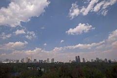 Landcape de Ciudad de México Fotos de archivo