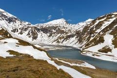 Landcape del lago mountain Alta strada alpina di Grossglockner in Austria Fotografia Stock Libera da Diritti