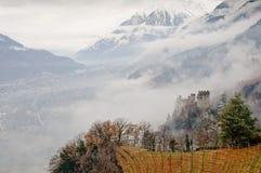 Landcape italiano de la montaña Imagen de archivo libre de regalías
