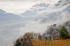 Landcape italien de montagne Image libre de droits