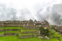 Landcape Mach Picchu w Peru Zdjęcie Royalty Free
