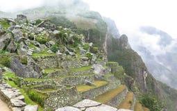 Landcape Mach Picchu w Peru Zdjęcie Stock