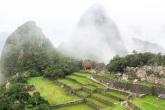 Landcape Mach Picchu w Peru Zdjęcia Stock