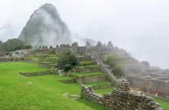 Landcape of Machu Picchu in Peru Stock Images