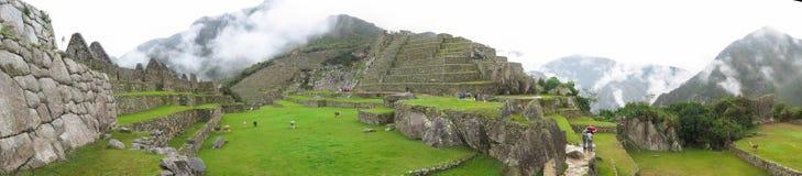 Landcape of Machu Picchu in Peru Royalty Free Stock Photo