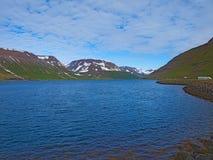 Landcape stupefacente in Islanda, bella destinazione Immagine Stock