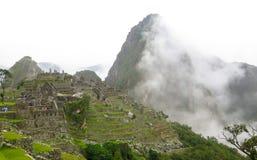 Landcape van Machu Picchu in Peru Royalty-vrije Stock Afbeeldingen