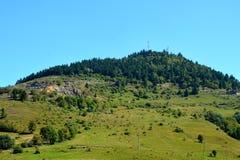 Landcsape in Rosia Montana, Apuseni Mountains Royalty Free Stock Photos