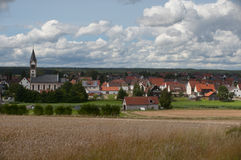 Landdorf Lizenzfreies Stockfoto