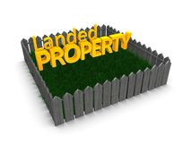 Landed property Stock Photography