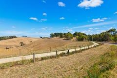 Het platteland van Australië Stock Foto's