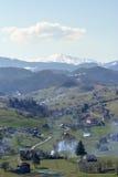 Landelijk berglandschap Royalty-vrije Stock Fotografie
