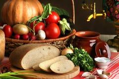 Landelijk brood Royalty-vrije Stock Foto