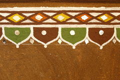 Landelijk Dorpshuis Rajasthan India Stock Afbeeldingen
