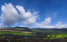 Landelijk Engels Landschap Royalty-vrije Stock Afbeeldingen