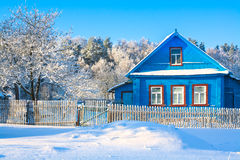 Landelijk huis Royalty-vrije Stock Afbeelding
