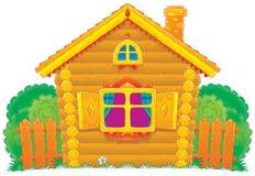 Landelijk Huis vector illustratie