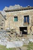Landelijk huis stock afbeeldingen