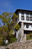 Landelijk huis in de herfst Stock Fotografie