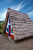 Landelijk huis in Santana Madera, Portugal Royalty-vrije Stock Afbeeldingen