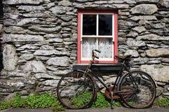 Landelijk Ierland in de oude dagen Stock Foto