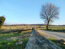 Landelijk landschap Royalty-vrije Stock Afbeeldingen