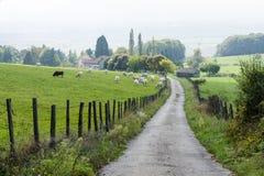 Landelijk landschap in Frankrijk I Royalty-vrije Stock Foto