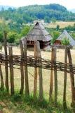 Landelijk landschap Servië stock foto's