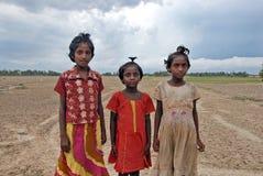 Landelijk Meisje in India Royalty-vrije Stock Afbeelding