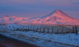 Landelijk Montana Landscape Royalty-vrije Stock Afbeeldingen