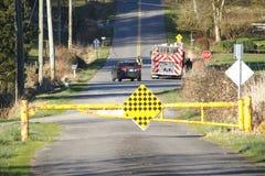 Landelijk Ongeval Stock Foto