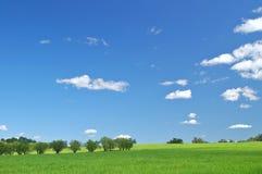 Landelijk platteland stock afbeelding