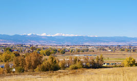 Landelijk Platteland in Colorado stock fotografie