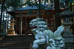 Landelijk Shinto-heiligdom Royalty-vrije Stock Fotografie