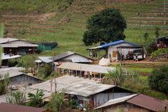 Landelijk Thais dorp stock fotografie