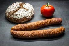 Landelijk voedsel Royalty-vrije Stock Afbeeldingen