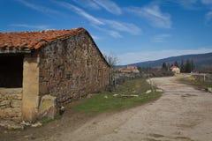 Landelijke Camino Royalty-vrije Stock Fotografie