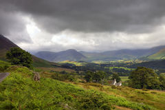 Landelijke Cumbria Stock Fotografie