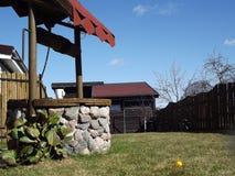 Landelijke de lentewerf Stock Afbeelding