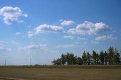 Landelijke de zomerscène royalty-vrije stock afbeeldingen