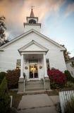 Landelijke doopsgezinde kerk royalty-vrije stock foto