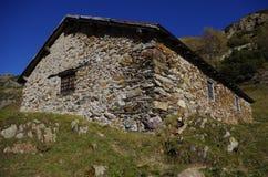 Landelijke hut Stock Afbeeldingen
