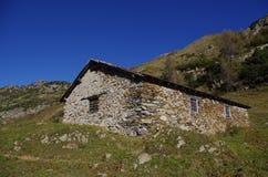 Landelijke hut Royalty-vrije Stock Foto's