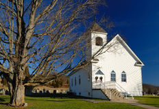 Landelijke Kerk Stock Afbeeldingen