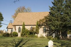 Landelijke Kerk royalty-vrije stock fotografie