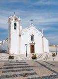 Landelijke kerk in Algarve stock foto
