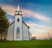 Landelijke kerk in Canada royalty-vrije stock fotografie